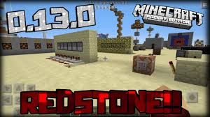 redstone creations mcpe 0 13 0 update gameplay 0 13 0 concept
