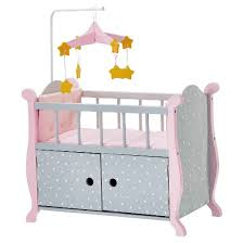 Olivia s Little World Baby Doll Furniture Nursery Crib Bed