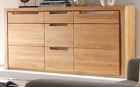 sideboard kernbuche wohnzimmer kommode esszimmer anrichte buche teil massiv zino ebay