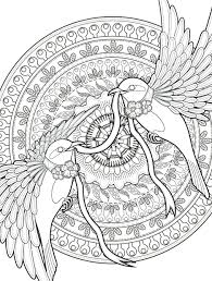 Coloring Pages Disney Moana Characters Adult Birds Free Online For Adults Large Size