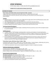 Resume Examples Education Australia