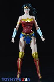 DC Collectibles Justice League 7 Pack 6 Wonder Woman Figure Stands At Roughly 1 4 Tall And This Is The First Release Of In Icons Line