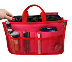 rw collections handbag organizer liner purse bag organizer
