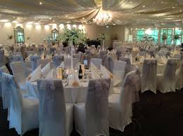 White Wedding Reception Decor With Alternating Centrepieces ... Chair Covers For Weddings Revolution Fairy Angels Childrens Parties 160gsm White Stretch Spandex Banquet Cover With Foot Pockets The Merchant Hotel Wedding Steel Faux Silk Linens Ivory Wedddrapingtrimcastlehotelco Meathireland Twinejute Wrapped A Few Times Around The Chair Covers And Amazoncom Fairy 9 Piecesset Tablecloths With Tj Memories Wedding Table Setting Ideas Au Ship Sofa Seater Protector Washable Couch Slipcover Decor Wish Upon Party Ireland