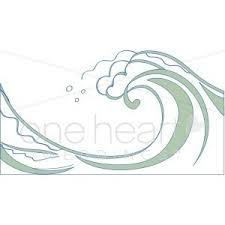 Green Wave Clipart