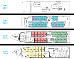 Ncl Deck Plans Pride Of America by Puget Sound And San Juan Islands Cruises American Cruise Lines