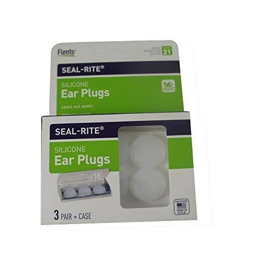 Flents Seal-Rite Ear Plugs - 3 Pairs