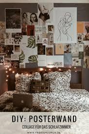 lifestyle eine posterwand im schlafzimmer selber machen