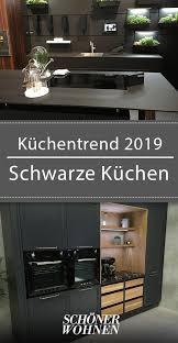 schwarze küche küche kucheideeneinrichtung schwarze in