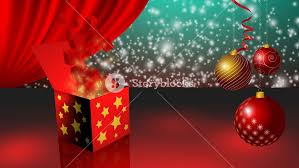 Gift Box Opening Around Christmas Tree And Small Red Boxes Coming Out From Them 3D Rendering