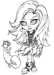 Coloring Pages For Girls Monster High