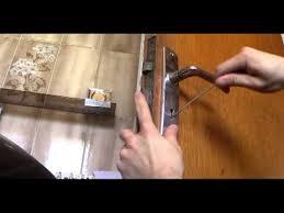 comment ouvrir une porte de chambre sans clé crochetage serrure à gorges simple
