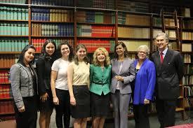 Laura Boldrini President Of Italys Chamber Deputies Meets With NOIAW