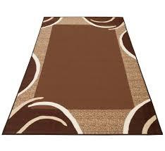 teppich loures theko rechteckig höhe 6 mm kurzflor mit bordüre wohnzimmer kundenliebling mit 4 5 sterne bewertung kaufen otto