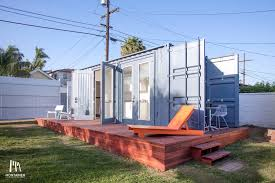 A Light Filled Shipping Container Full Of Upgrades