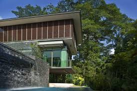 Stunning Tropical Contemporary House Design In The Forest With ... Backyard Waterfall Ideas Large And Beautiful Photos Photo To Waterfalls And Pools Stock Image 77360375 In For Exciting Amazing Waterfall Design Home Pictures Best Idea Home Design Interior Excellent Household Archives Uniqsource Com Landscaping Ideas Standing Indoor Pump Outdoor Pond Wall Water Wonderful Nice For Beautiful Garden Youtube Modern Flat Parks House Inspiration Latest Stunning Tropical Contemporary House In The Forest With Images About Fountainswaterfall Designs Newest