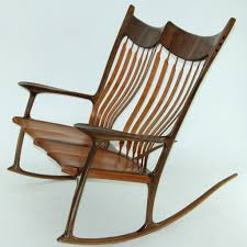 Maloof Rocking Chair Joints by Custom Double Wooden Rocking Chair