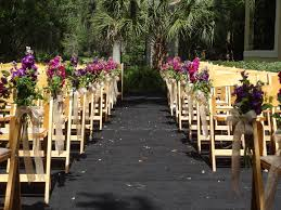 Wedding Decor Chair Decorations For Ceremony Theme Ideas Casual Simple