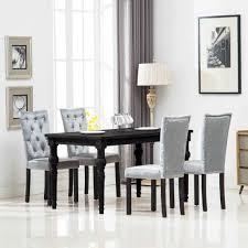 huicheng 4 stk esszimmerstühle samt stuhl polsterstuhl silbern küchenstuhl mit glitzersteinen