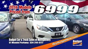BUDGET CAR AND TRUCK SALES MONTGOMERY MEMORIAL DAY 2017 TV30HD - YouTube