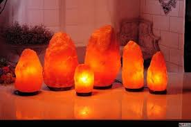 Himalayan Salt Lamp Pyramid Shape by Five Salt Lamps For Home Décor In 2017 My Decorative