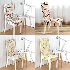 Stretch Dining Chair Cover Color Printed Fashion Home Living Covers Spandex Room