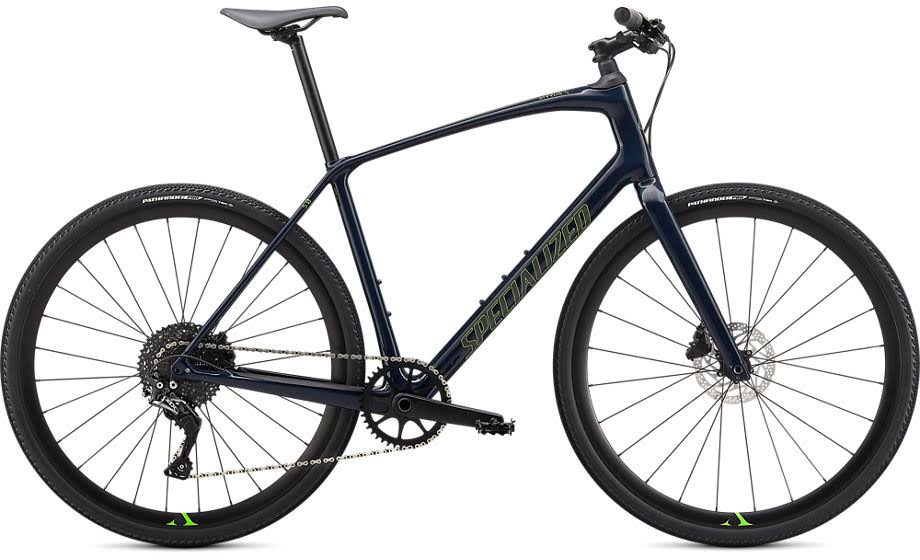 Specialized Sirrus x 5.0 2020 Hybrid Bike Cast Blue/Hyper/Black