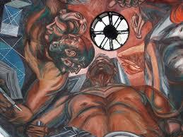 detalle de cúpula pentafásico de clemente orozco fresco p flickr