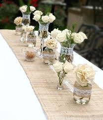 Rustic Birthday Party Ideas Flower DecorationsBirthday Table