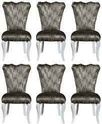 casa padrino luxus barock esszimmer stuhl set grün gold weiß 49 x 56 x h 102 cm edles küchen stühle 6er set barock esszimmer möbel