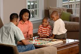 FileFamily Playing A Board Game 1