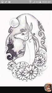 Last Unicorn Coloring Page Adult