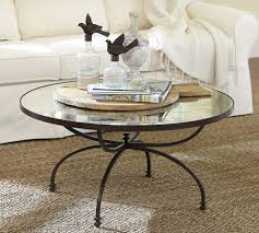 Coffee Table Willow Coffee Table Pottery Barn Round Mirrored