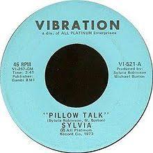 Pillow Talk song