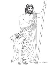 Hades Coloring Page The Greek God Of Underworld Pages Hellokids To Print