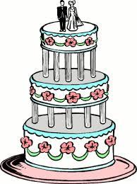 Wedding Cake Cartoon
