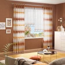 gardinen vorhang kombi für ihr wohnzimmer