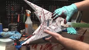 How To Paint Blood Splatters On A Guitar