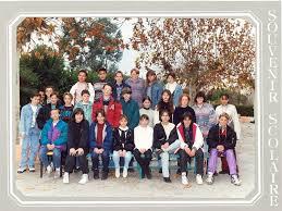 photo de classe 6ème k je crois de 1993 collège le mont d or