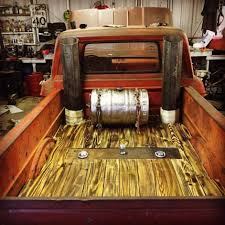 Torch Accented Wood Bed Floor With Dual Exhaust Stacks And A Beer ... Wooden Truck Bed Of High Quality Pickup Box Trucks Pinterest Kayak Rack For Best Resource View Our Gallery Here Marvelous Kits 1 Wood Truck Bed Plans The Bench Restoration Projects 1969 Febird 1977 Trans Am 1954 Jeff Majors Bedwood Tips And Tricks 2011 Hot Rods Fishing A Wood Hamb Modern Rodder 1929 Chevrolet Stake Bills Handmade Wooden Trucks Wooden Side Rails Homedignlastsite