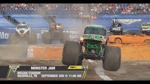 Monster Jam Racing In Nashville 2017 - Sunday September 3rd On FS1 ...