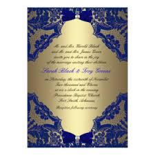 Royal Blue And Gold Wedding With Red Roses
