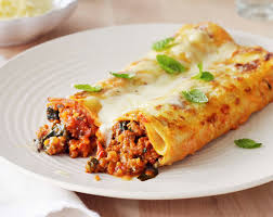 Baked Lamb Rosemary Cannelloni