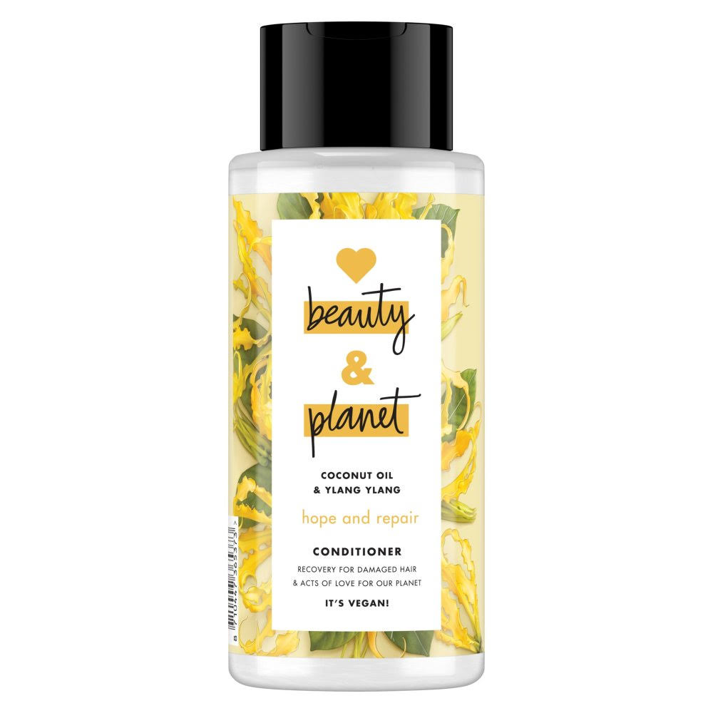 Love Beauty and Planet Hope and Repair Conditioner - Coconut Oil and Ylang Ylang, 400ml