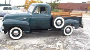 100 Chevy Pickup Trucks For Sale 1953 Chevrolet 3100 Truck Frame Off Restored V8 Power