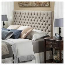 Target Roma Tufted Wingback Bed by Target Headboards King Pertaining To Roma Tufted Wingback