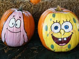 Spongebob Pumpkin Carving by Jazzi U0027s Flower Center