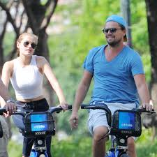 Leonardo DiCaprio Bike Riding In New York With Friends May 25 2016 261987