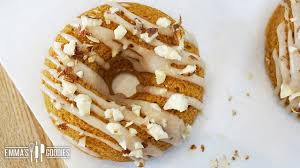 Dunkin Donuts Pumpkin Donut Ingredients by Pumpkin Donuts Recipe Baked Donut Recipe Youtube
