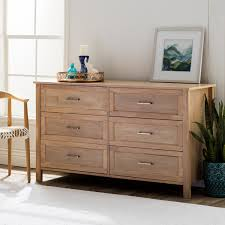 Hemnes 6 Drawer Dresser White by Olympus Natural Six Drawer Dresser Free Shipping Today Throughout